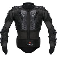 DUHAN Motorcycle Jacket Motorcycle Armor Riding Body Protection Motor cross Racing Full Body Armor Spine Chest Protective Jacket