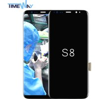 Oem assembly lcd mobile phone ,display for samsung galaxy S8 lcd with good price