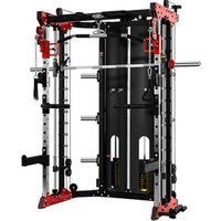 'Home Sports Multi-functional Trainer Smith Machine Crossover Cable Squat Rack