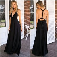 22LQ2035 Wholesale Western Hottest Multi Wrapped Ways Party Women Sexy Long Evening Dress