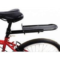 Aluminium Alloy Adjustable Bike Seat Carrier Black Rear Luggage Bicycle Rack