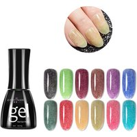 Queen Fingers Villus Wire Effect Acrylic Nail Polish 15ML Korea Janpan Popular Led/Uv Nail Gel