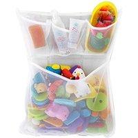 Bath Toy Organizer - Bathroom Tub Storage Mesh Bag In Stock for Amazon