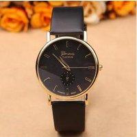 New Arrival Quartz Watch for Women Geneva Leather Watch Dress Lady Wristwatches Female Clock