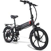 20 inch 48V 350W electric bicycle folding high speed foldable ebike 20LVXD30 electric folding bike
