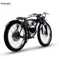 Classic Vintage Retro Fat Boy 48V Bicycle Cruiser Cycle Electric Motorcycle