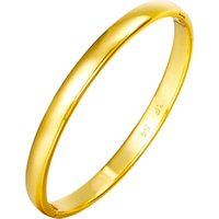 52448 xuping special offer 6mm 24k gold jewelry bangle, classical design economical wedding party women jewelry bangle