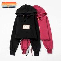 Maxnegio crop top hoodie korean harajuku hoodie