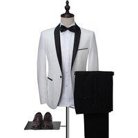 Latest Design Men suit 2 pieces Groom Wedding Suit for Men