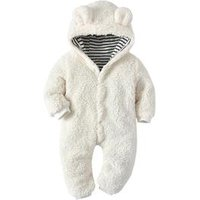 Boutique Clothing Romper Winter Clothes 100% Cotton Soft Touch Infant Baby Pajama
