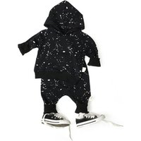 Q2-baby China Manufacturer Kids Clothing Long Sleeve Two Pieces Baby Clothes Sets