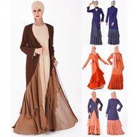 2019 high quality wholesale cotton saudi muslim latest design abaya kaftan style in dubai dress abaya