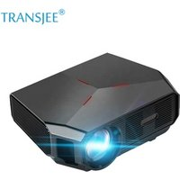 2019 Newest transjee 720P Mini Projector 3200 Lumens portable projector Full HD led lcd for home theater for game
