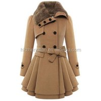 Ecowalson New Fashion Women Warm Slim Coat Jacket Thick Parka Overcoat Long Winter Outwear