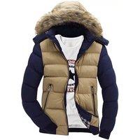 2019 wholesale men hooded coat winter down jacket cotton jacket,softshell cotton jacket