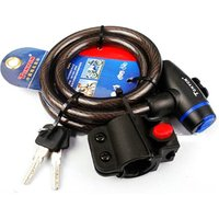TONYON Bicycle Accessories Mountain Bicycle Cable Lock (With Holder) 1200mm Full Range Anti - Penetration Bike Lock