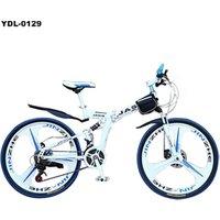 2017 Popular 26 Inch 21 Speed Integrated Wheel Mountain Bicycle Folding Bike