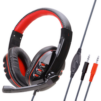 gaming wired headset player Wired Game Computer Mobile USB Headset