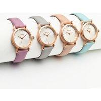 China Wholesale Cheap Leather Fashion Beautiful Chain Dress Women Wrist Watch Decorative Ladies Watch