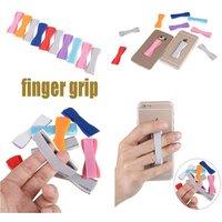 Finger Grip Selfie Elastic Strap Phone Holder Mobile Universal Tablet Holders for iPhone 7 Plus 6S for Samsung Galaxy S7 edge S6