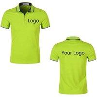 Top quality 100%cotton golf men/women polo t-shirt printing custom t shirt with logo