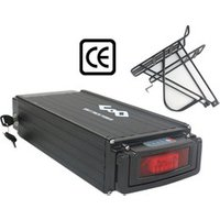 UPP CE Approved Cargo Rack 48V 20Ah Lithium e Bike Battery with Charger