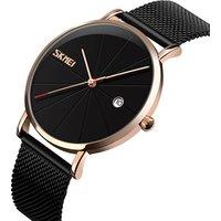 Skmei China Wristwatch Wholesale Fashion Mesh Band Waterproof Wrist Watch 9183