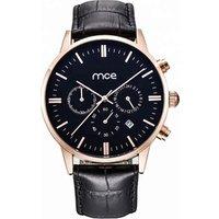 Wholesale Watch Custom Brand Alloy Case Classic Leather Strap Man Chronograph Quartz Wrist Watch