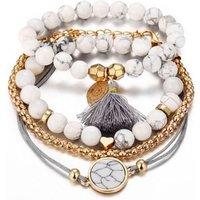 Top selling korean style fashion jewellery bracelet set