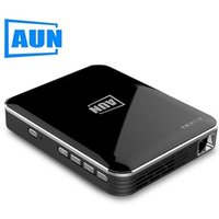 AUN MINI Projector X3, 2 hours play time. Smart Phone Screen Mirroring, HDMI for 1080P home cinema, Portable 3D
