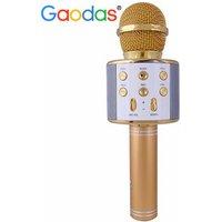 'Wireless Karaoke Microphone For Kids With Bt Speaker,usb-stick Player, Portable Karaoke Machine