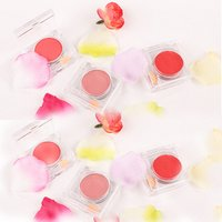 OEM 15colors Face blusher makeup private label blush single colors matte cardboard cream blusher