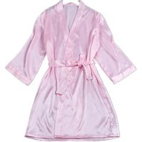 Wholesales Women Kimono Bath Robe Sexy Bridesmaid Wedding Party Robe Silk Satin Robe for Bridal