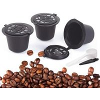Amazon Hot Selling Reusable Coffee Espresso Filter Coffee Pods 3-Pack Refillable Empty Coffee Capsule