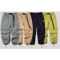 Fashion sweatwear casual Khaki neon track harem pants men stylish windbreaker pants plain spandex mens trousers and pants