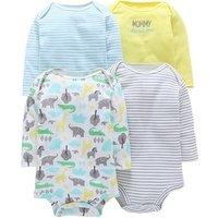 Toddler clothing infant stripe unisex 100% cotton  baby onesie kids romper