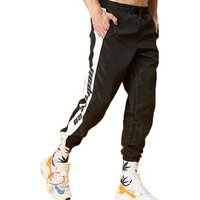 100% polyester windbreaker baggy trousers mens adult pants