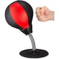 'Desktop Punching Boxing Ball Stress Buster Speed Free Standing Desk Punch Bag