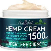 Hemp Pain Relief Cream(50g) Natural Hemp Extract Cream for Arthritis, Back Pain and Muscle Pain Relief Good for skin health