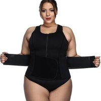 Hot Sale  Plus Size Women Neoprene Corset  Waist Trainer Body Slimming Shapewear Lightweight Fitness Vest