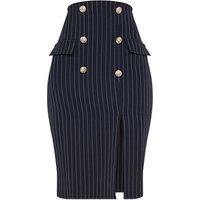 Custom Official Work Sexy Womens Techno Stretchy High Waist Knee Length Dress Office Pencil Skirt