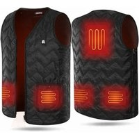Winter Outdoor USB Infrared 7.4V Battery Heated Vest Electric Thermal Waistcoat Heated Clothing Vest