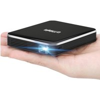 Latest Palm Size DLP Projector P6 Portable Pico Video Projector  Beamer Support  USB mini portable projector