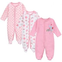 Amazon hot selling baby clothes romper infant autumn clothing baby girl clothes long sleeve