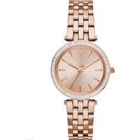 2019 MK style design OEM fashion Lady wrist watch with diamond dial mk3366