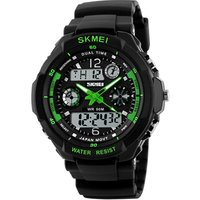 Skmei 1060 Kids Digital Watch, Boys Sports Waterproof Led Watches with Alarm Wrist Watches for Boy Girls Children