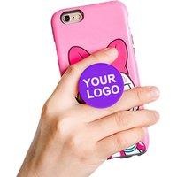 Custom Phone Holder Pops Up Socket Ring with Logo
