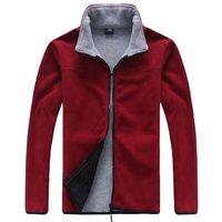 Custom winter heated warm mens bomber jacket unisex polar fleece coat for winter