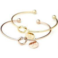 Top Selling Fashion Metal Zodiac Bracelet In Silver/Gold and Rose Gold Color Charm Bracelet New Cuff Bracelet for Women
