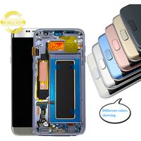 For Samsung Galaxy s7 edge Lcd Mobile Phone LCD for Samsung Galaxy s7 edge Assembly Lcd display for samsung galaxy s7 edge